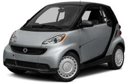 New 2015 smart fortwo Exterior