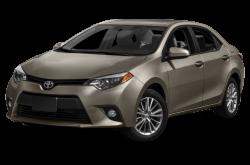 New 2015 Toyota Corolla Exterior