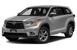 New 2015 Toyota Highlander Hybrid