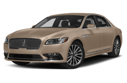New 2017 Lincoln Continental