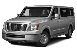 New 2017 Nissan NV Passenger NV3500 HD