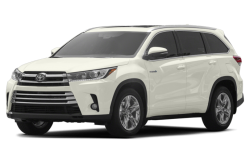 New 2017 Toyota Highlander Hybrid