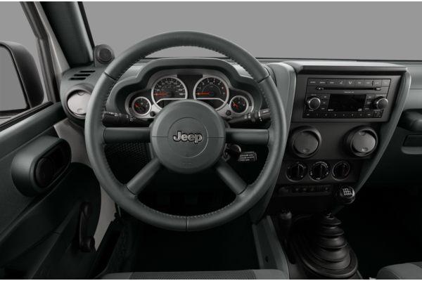 2010 jeep wrangler sport interior