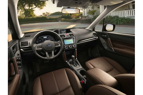 2018 subaru forester interior. fine subaru new 2018 subaru forester  price photos reviews safety ratings u0026 features with subaru forester interior