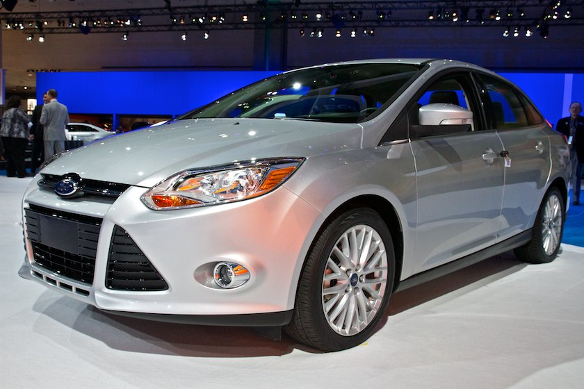 2011 Ford Focus 3/4 view
