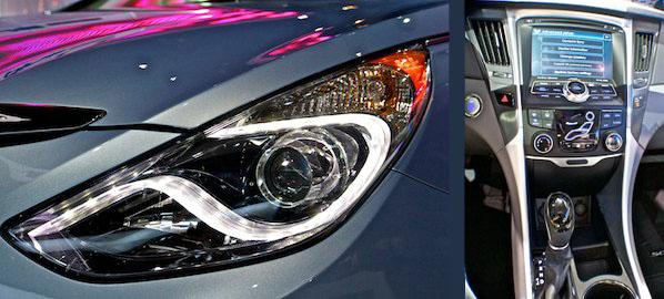 Hyundai Sonata visual cues