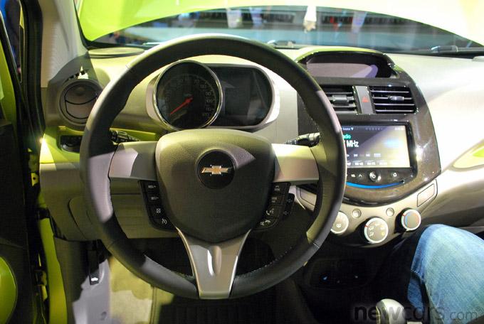 2013 Chevrolet Spark Interior