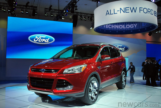 2013 Ford Escape 3/4