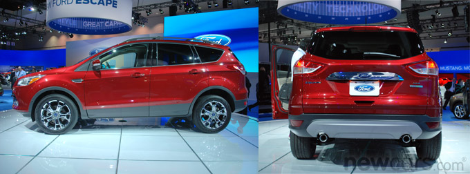 2013 Ford Escape profile/rear