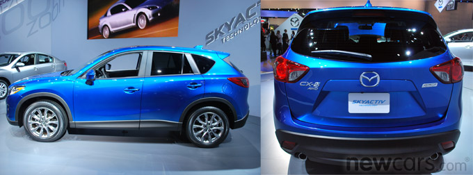 2013 Mazda CX-5 Profile/Rear