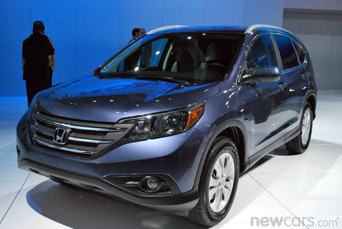2012 Honda CR-V 3/4