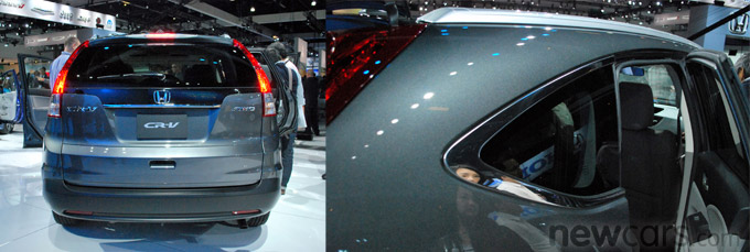 2012 Honda CR-V Rear/D-Pillar