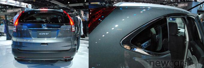 2012 Honda CR-V Rear/D-Pillar