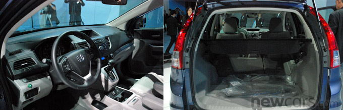 2012 Honda CR-V Interior/Cargo Space