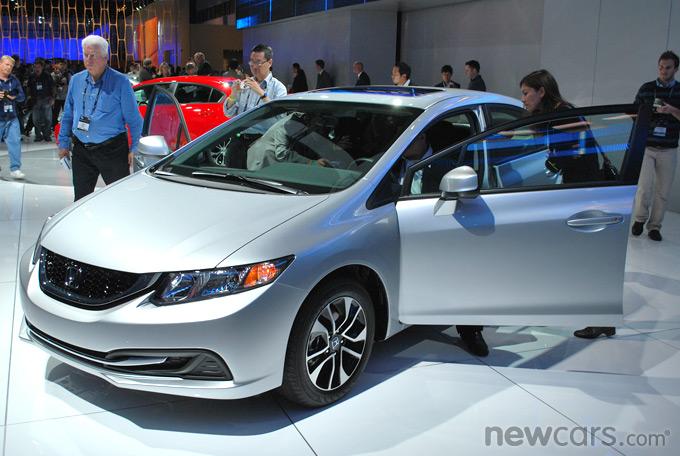 2013 Honda Civic 3/4