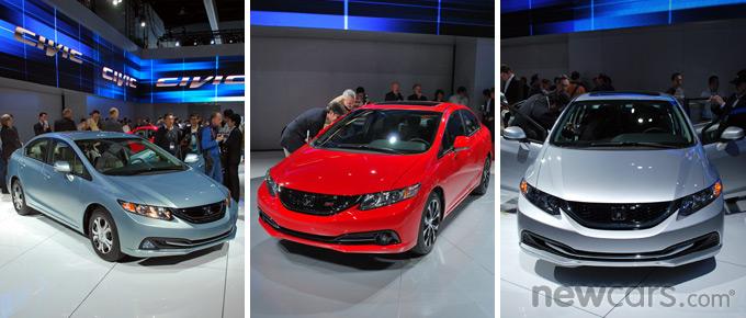 2013 Honda Civic Family