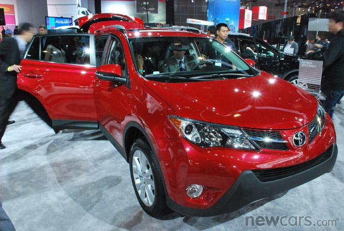2013 Toyota RAV4 3/4