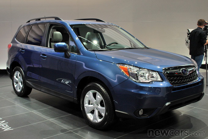 2014 Subaru Forester Front 3/4