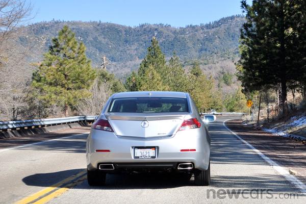 2013 Acura TL Mileage Drive
