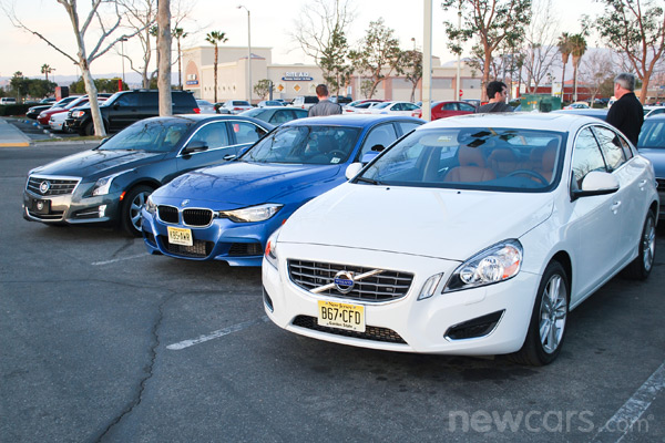 2013 Volvo S60 and others, Mileage Drive