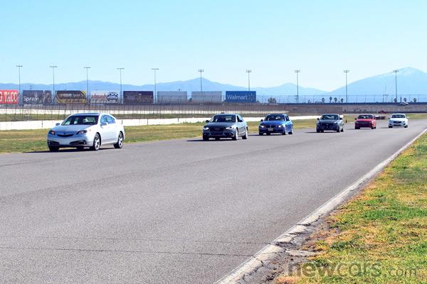 2013 Acura TL Track Day
