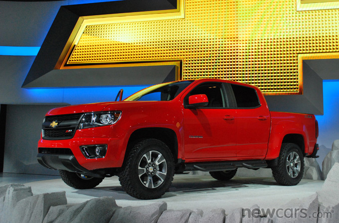 2015 Chevrolet Colorado 3/4 Exterior