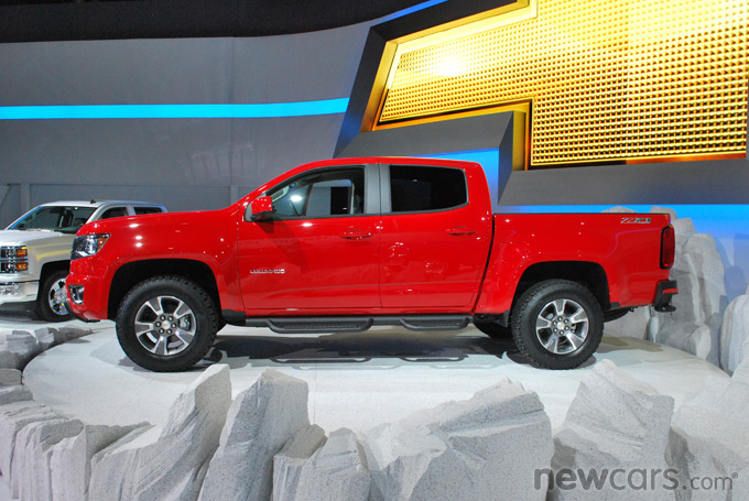 2015 Chevrolet Colorado Exterior Profile