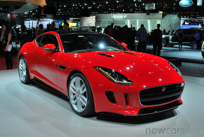 2015 Jaguar F-Type Coupe Exterior