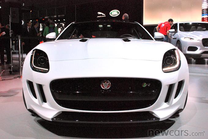 2015 Jaguar F-Type Coupe Exterior Front