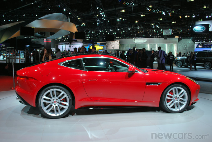 2015 Jaguar F-Type Coupe Exterior Side