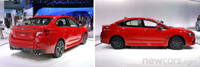 2015 Subaru WRX Exterior Profile and Rear