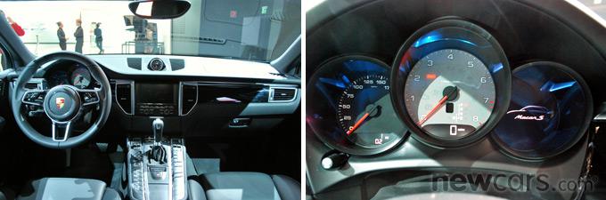 2015 Porsche Macan Interior Styling