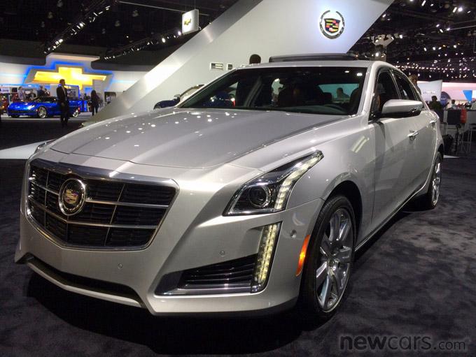 2014 Cadillac CTS Exterior Close