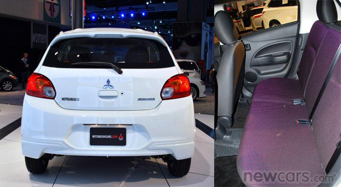 2014 Mitsubishi Mirage Details